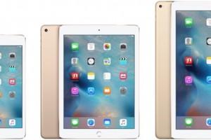 iPad ラインアップ