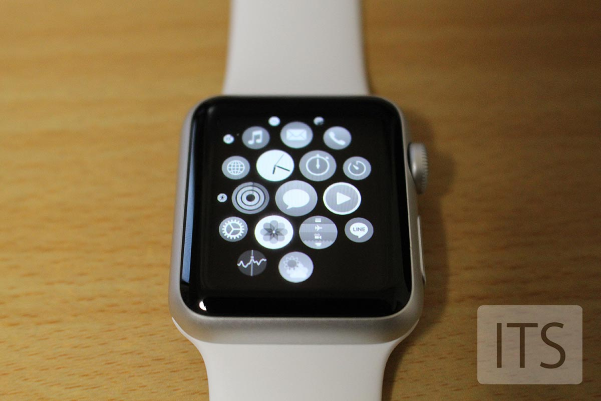 Apple Watch グレースケール