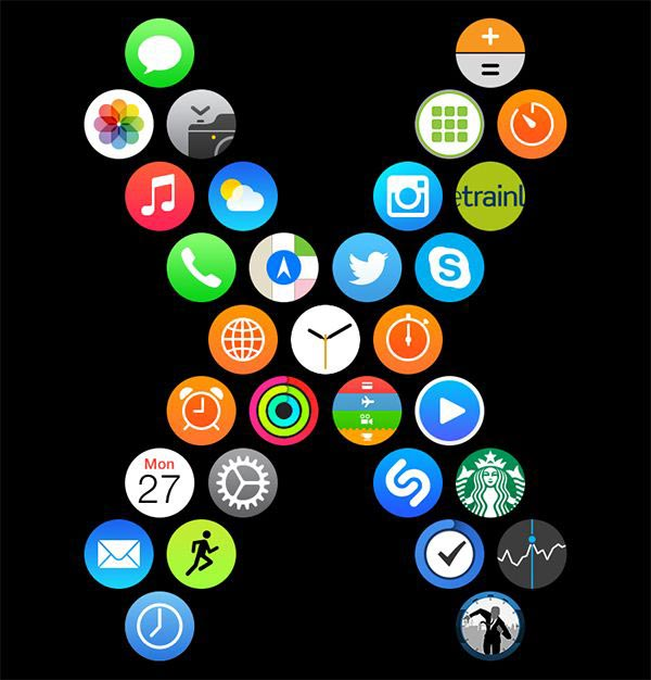 Apple Watch アプリレイアウト