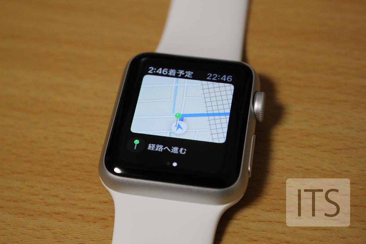 Applewatch 地図アプリ