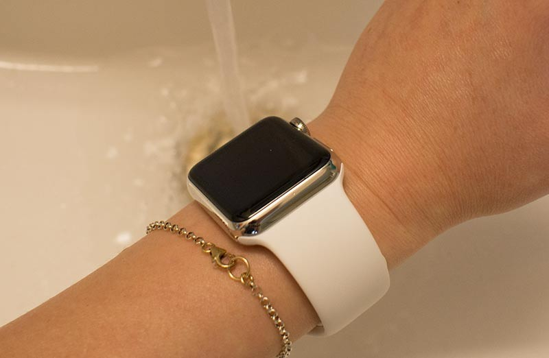 Applewatch 水洗い