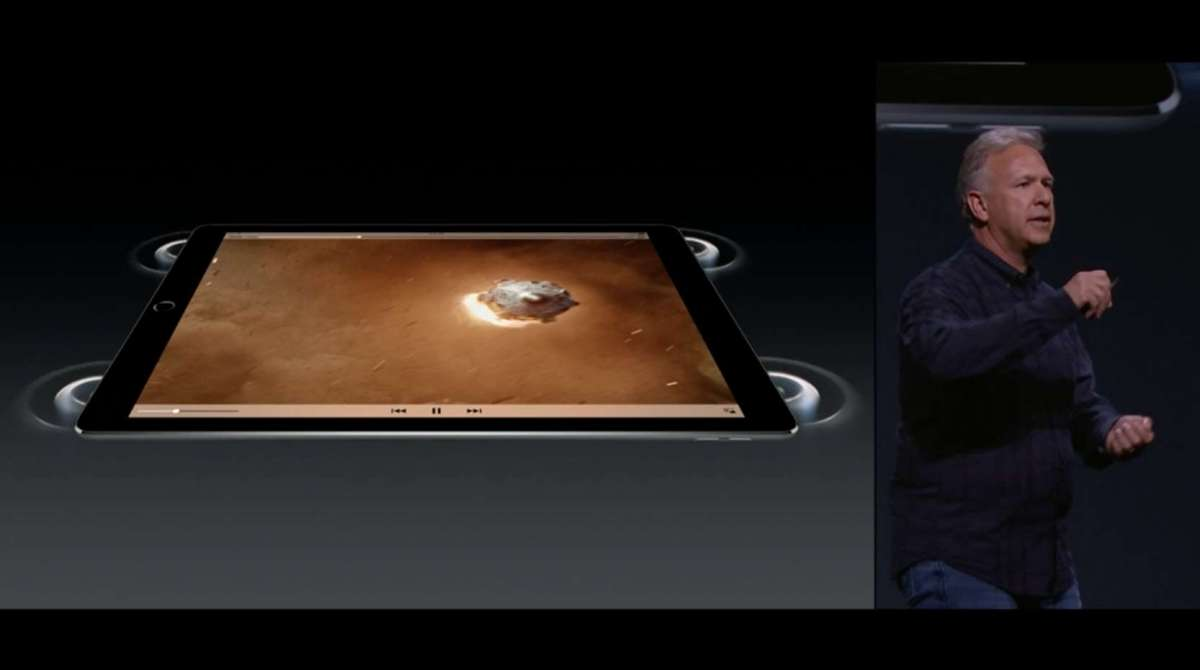 iPad Pro 4スピーカー