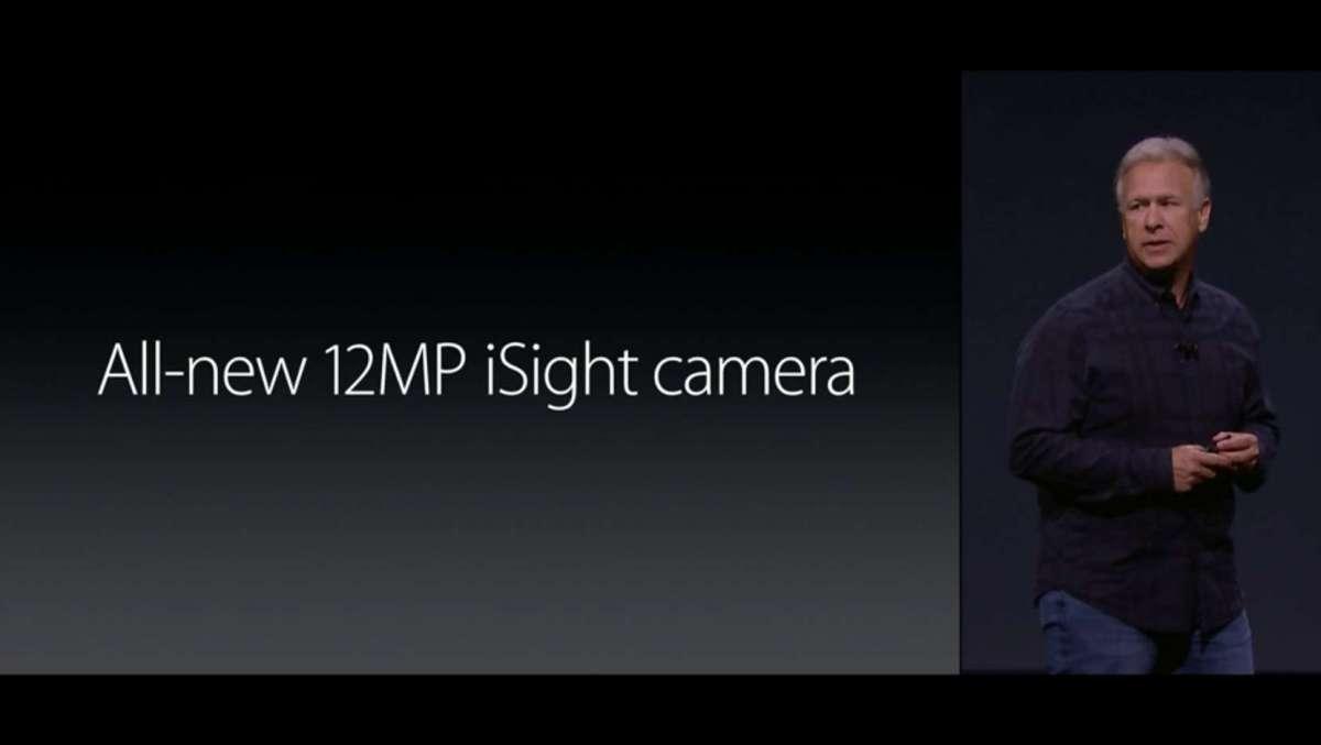 1200万画素 カメラ iPhone6s
