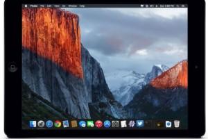 OS x el-capitan iPad Pro