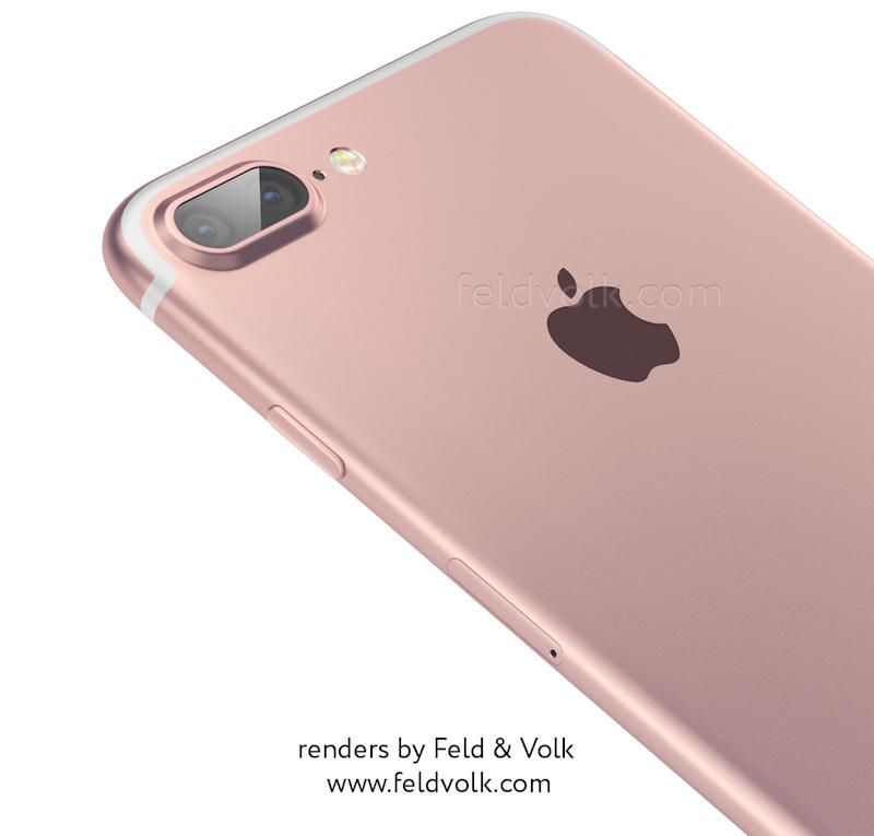 iPhone 7 レンダリング画像