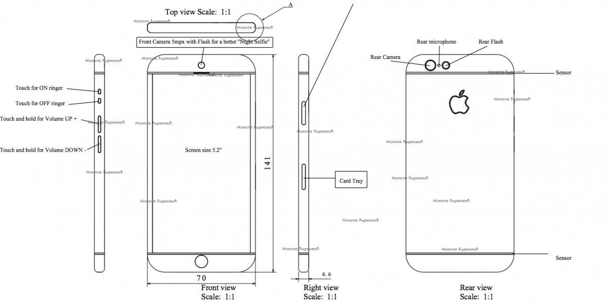 iPhone 7 コンセプト画像