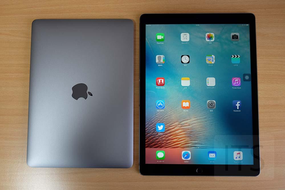 MacBookとiPad Pro 12.9
