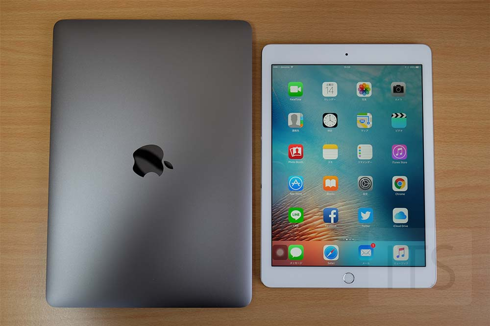 MacBookとiPad Pro 9.7