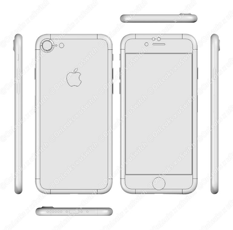 iPhone 7 CADデータ