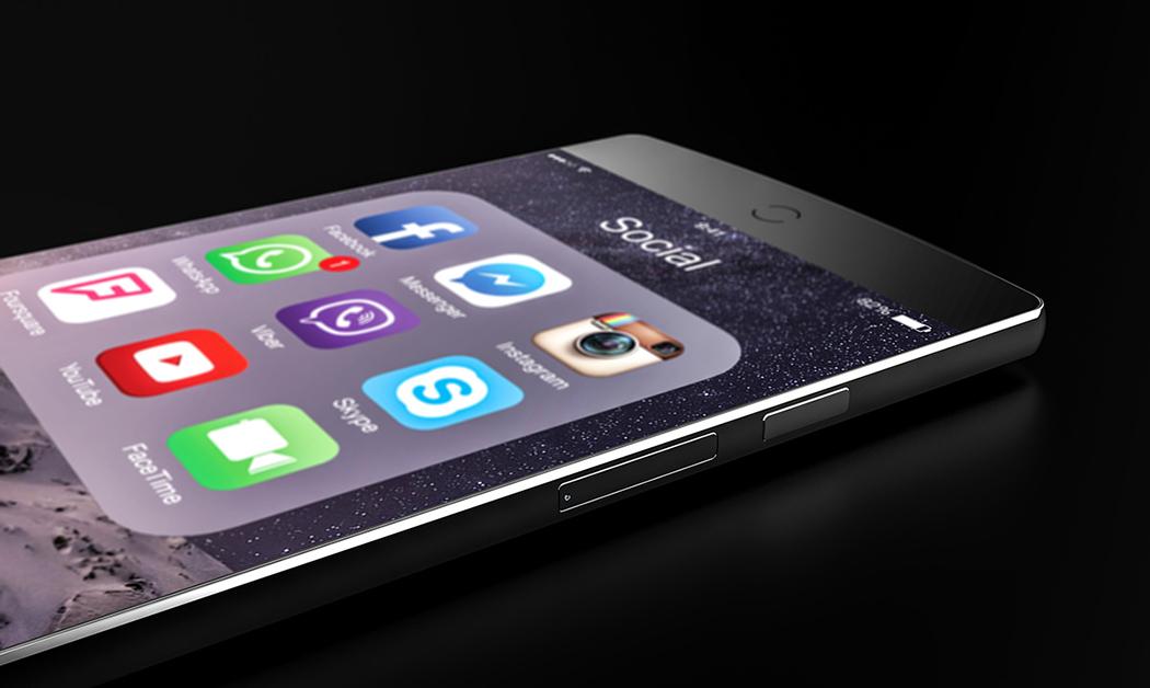 iPhone7 コンセプトデザイン 四角い5