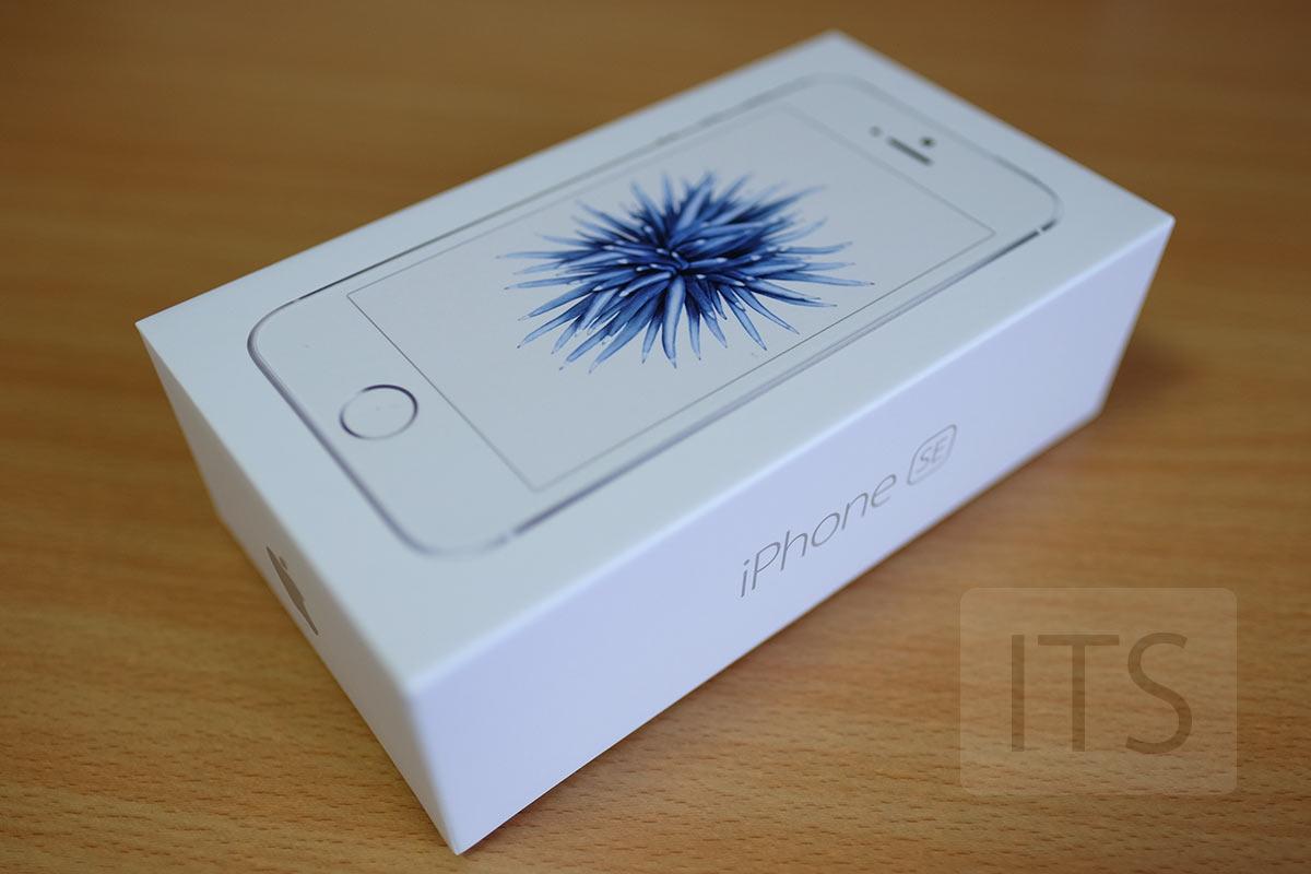 iPhone SEパッケージ