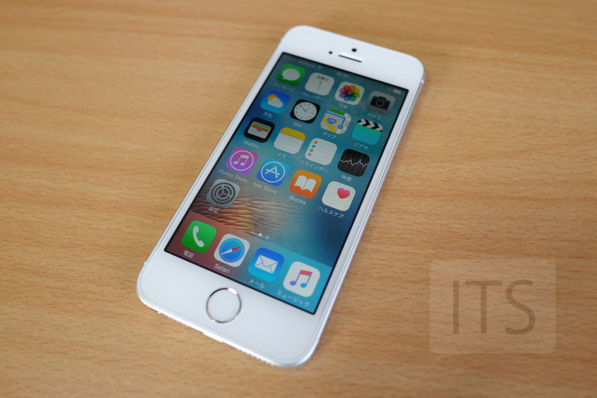 iPhone SE の本体デザイン