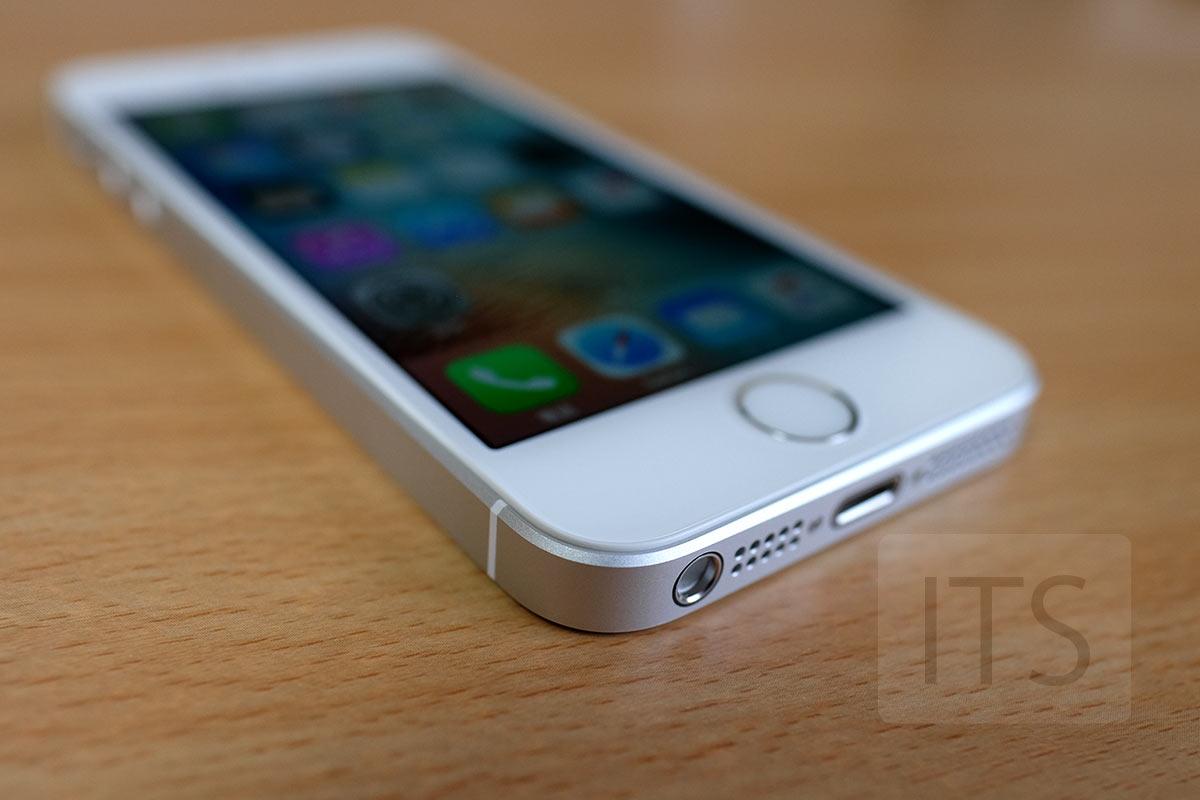 iPhone SE Lightningコネクタ