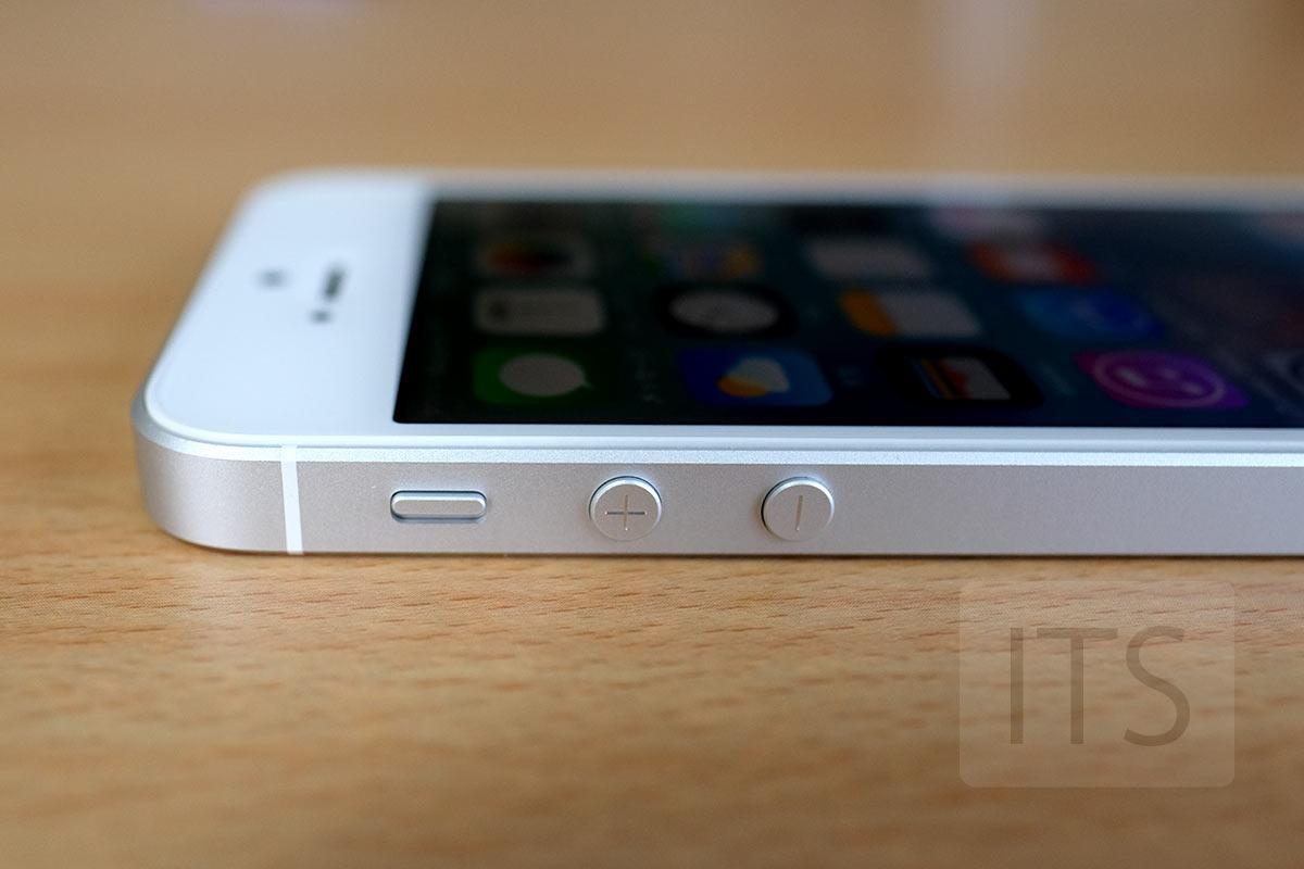 iPhone SE サイド部分