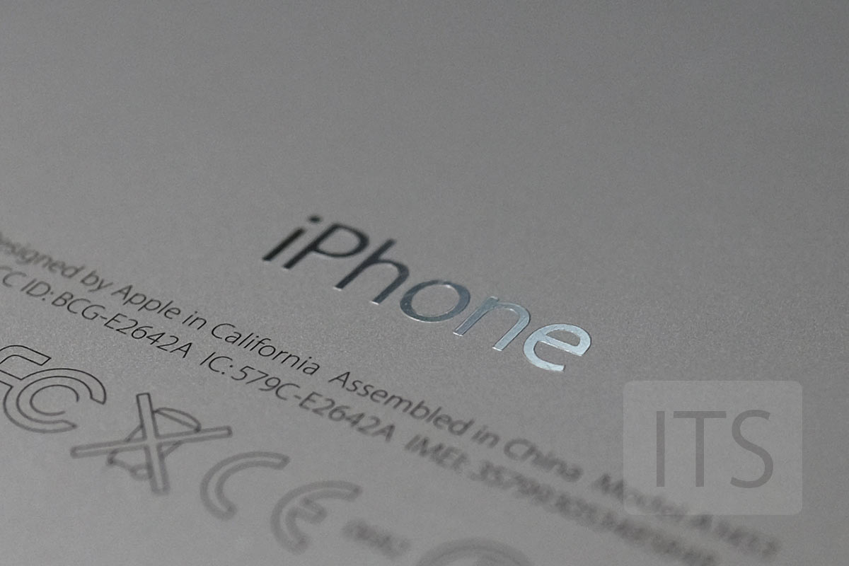 iPhone 5s ロゴ