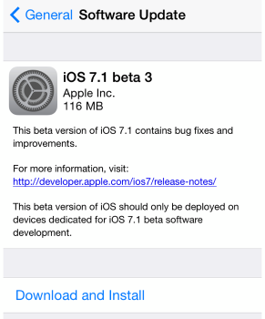 ios7.1 beta3