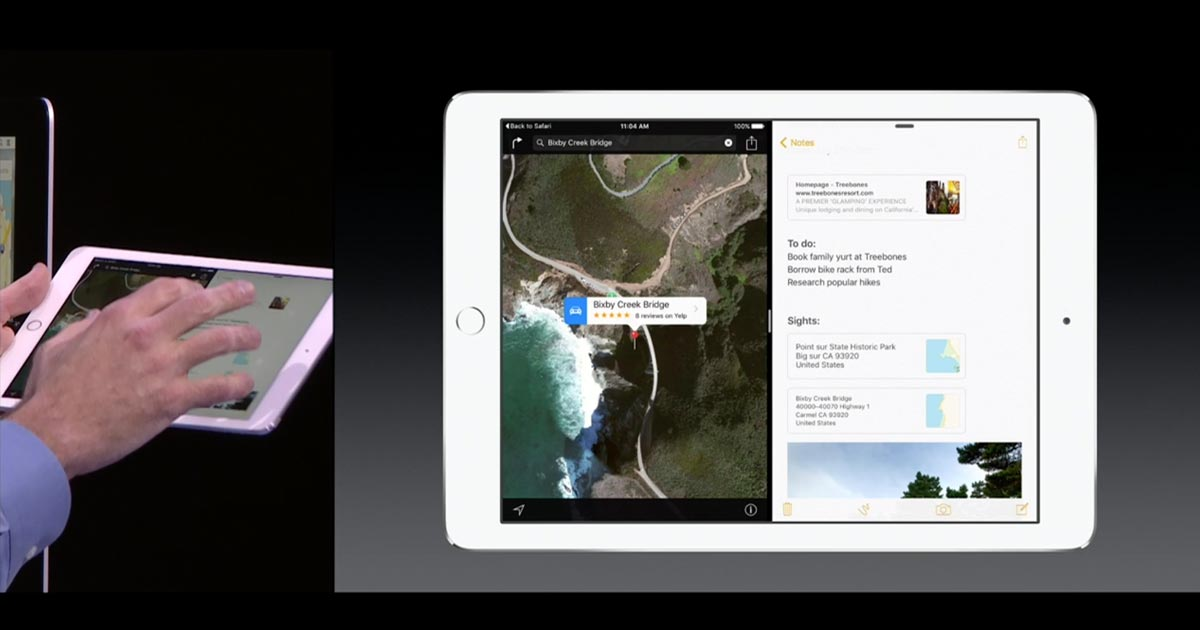 Split View iOS9