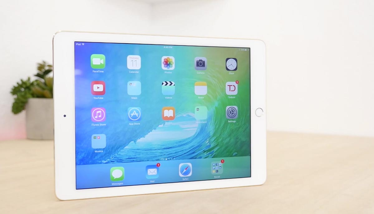 iPad Air2 iOS9