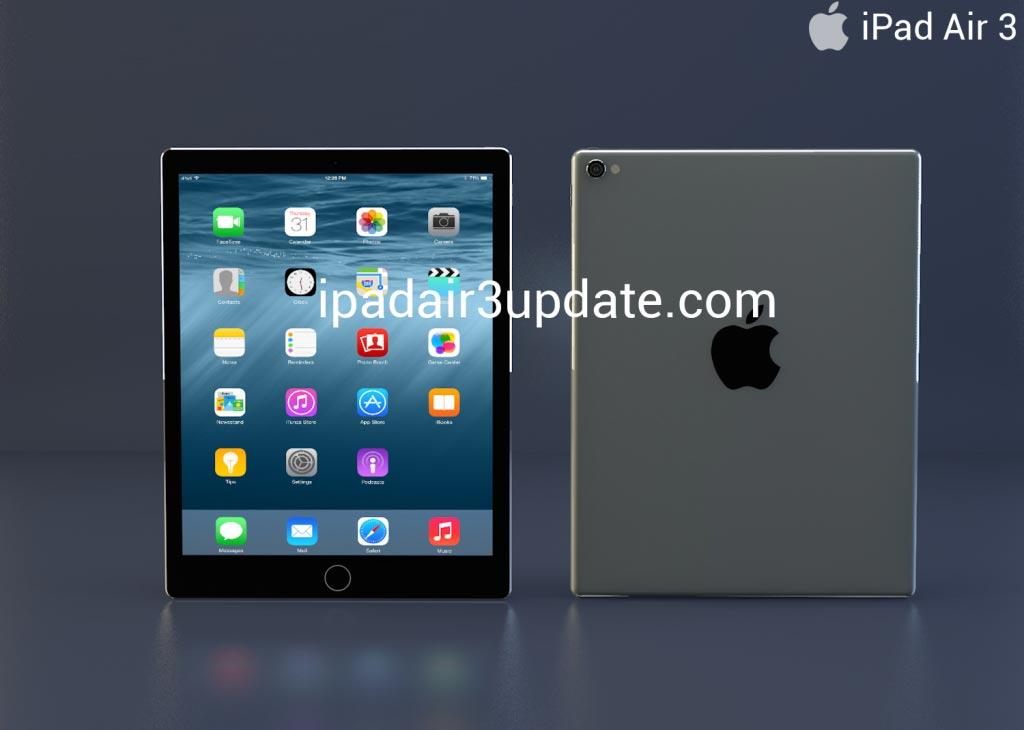 iPad Air 3 コンセプトデザイン