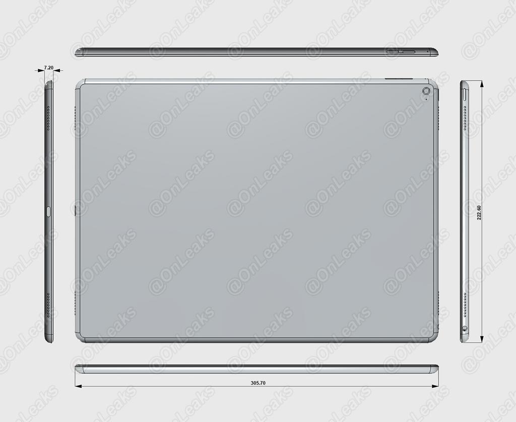 iPad Pro レンダリング画像