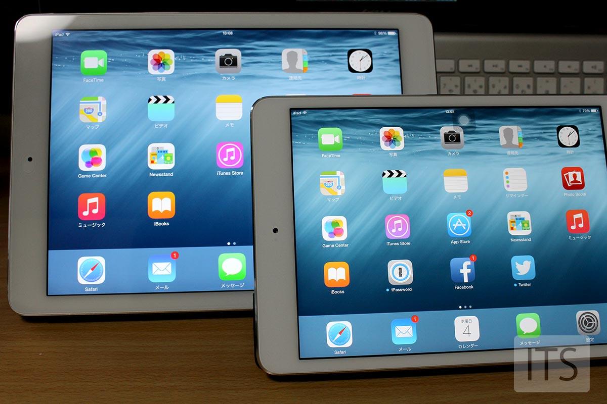 iPad Air2とiPad mini2