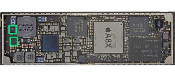 A8X 2GBのRAM