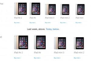 iPad mini 販売終了