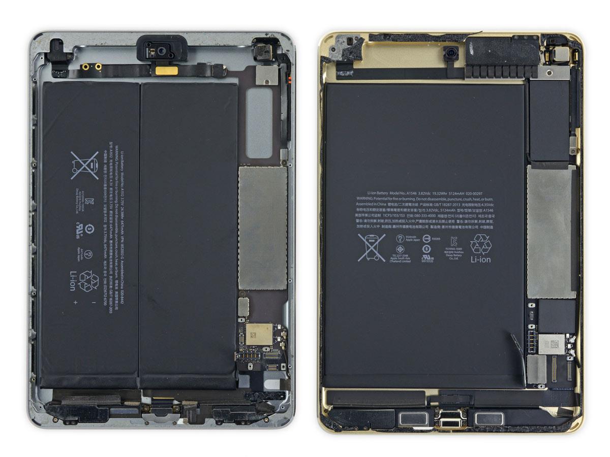 iPad mini 4 バッテリー