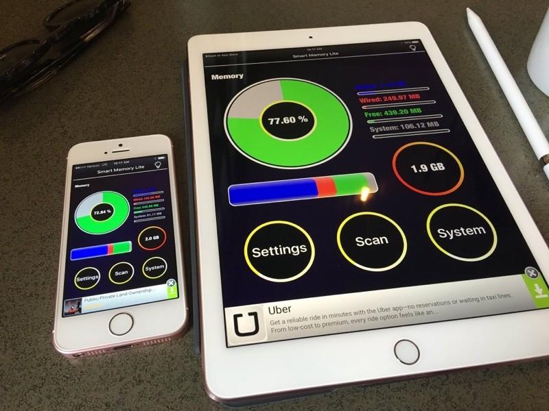 9.7インチ iPad Pro 2GB RAM