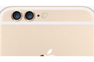 iPhone デュアルカメラ