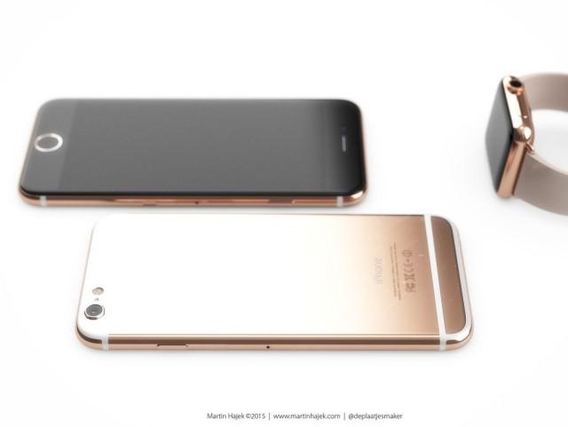 Iphone6s ローズゴールドモデル コンセプトとApple Watch