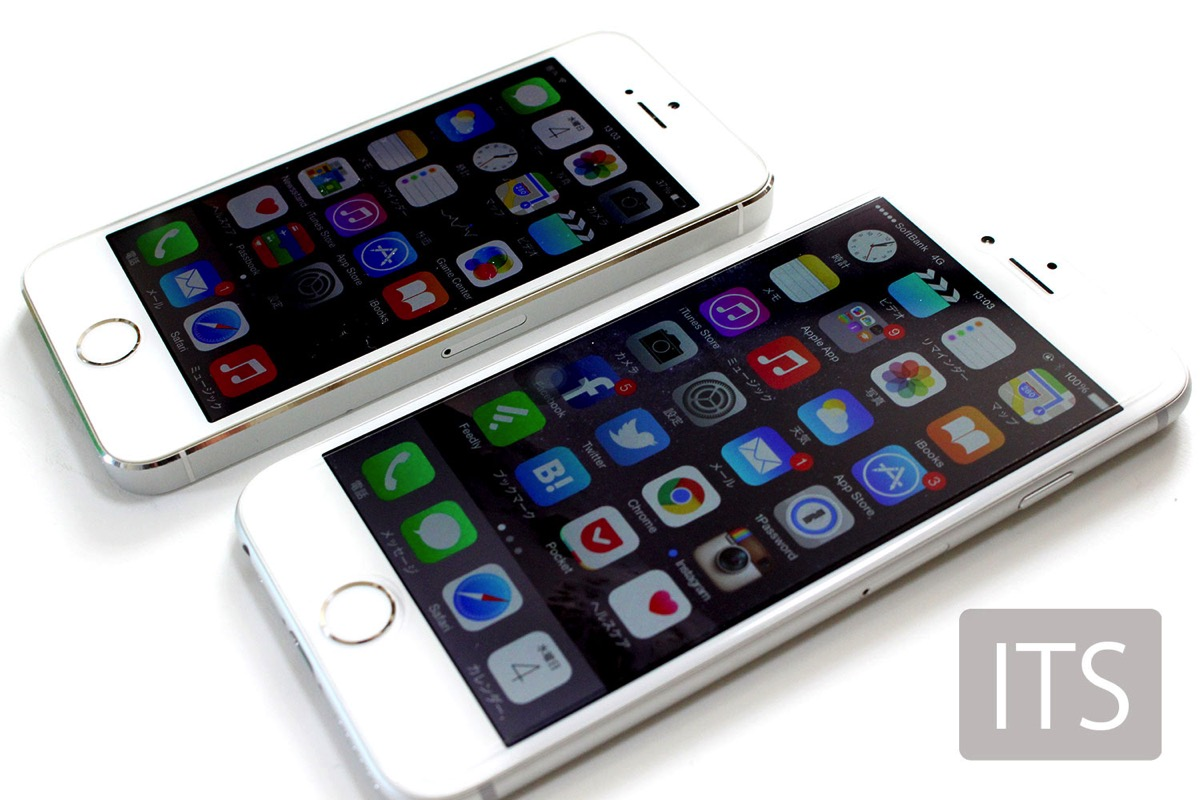 iPhone5sとiPhone6
