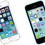 iPhone5sとiPhone5c