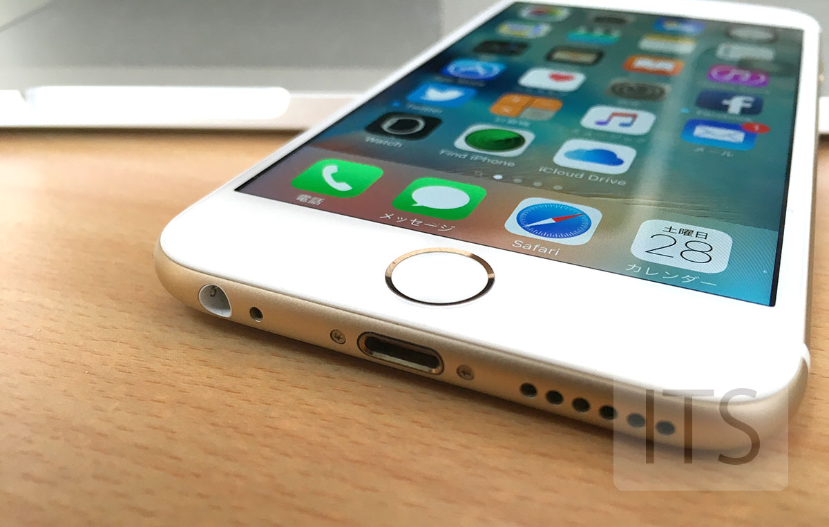 iPhone6 ヘッドホン端子