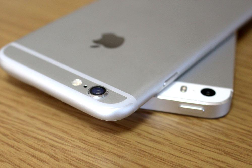 iPhone6とiPhone5sのカメラ