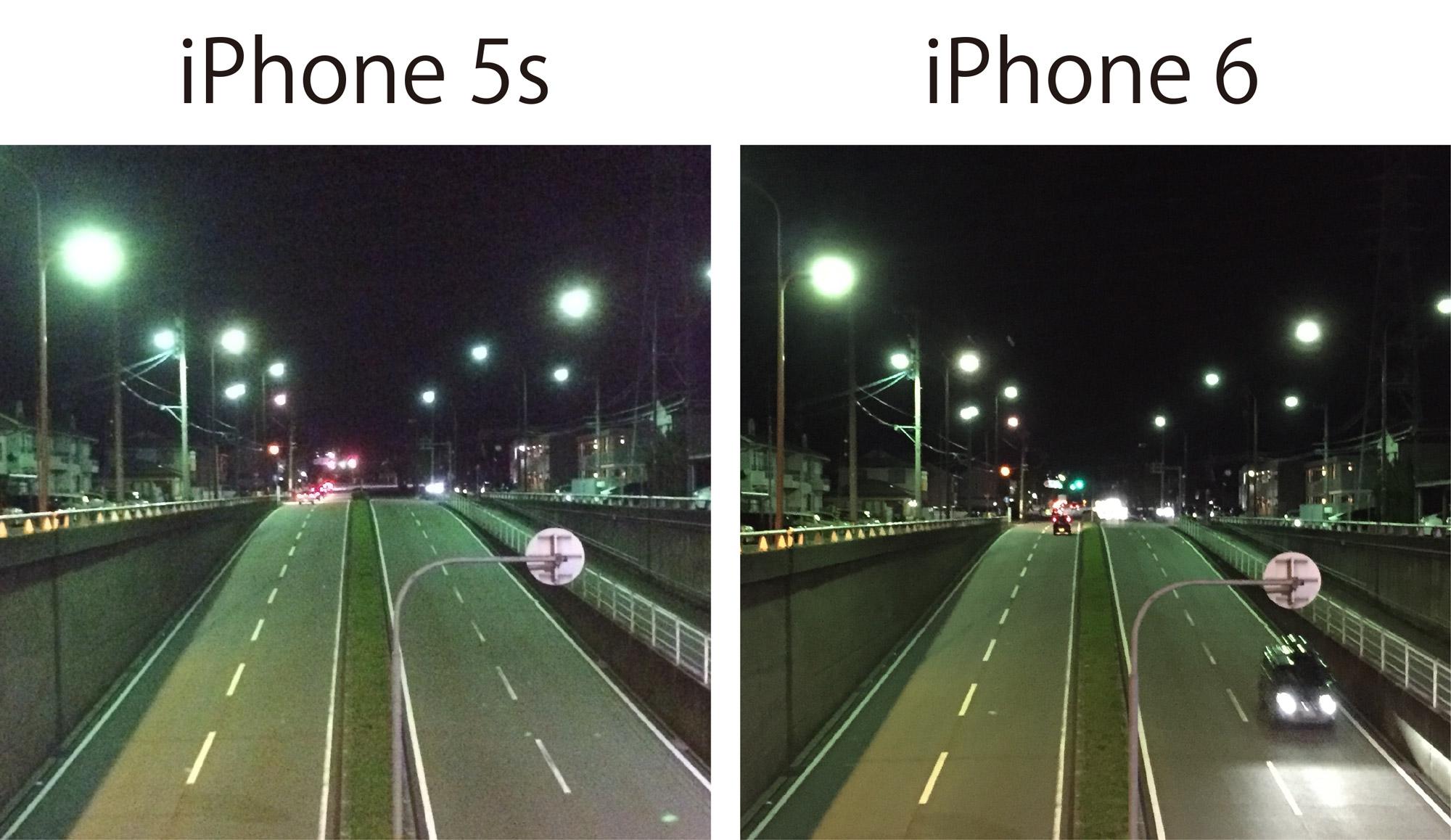 iPhone 5s/6 カメラ画質チェック2