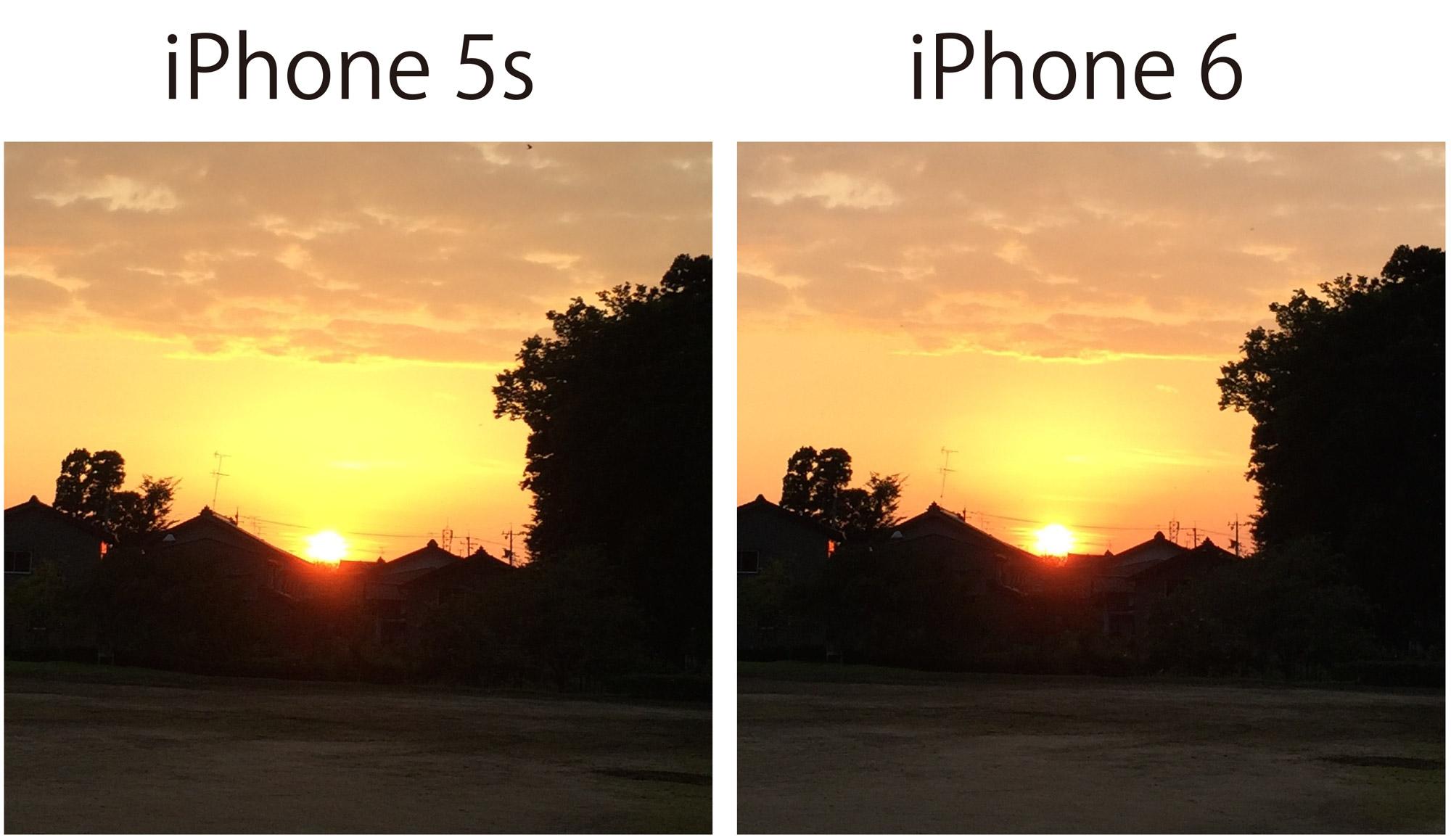 iPhone 5s/6 カメラ画質チェック4