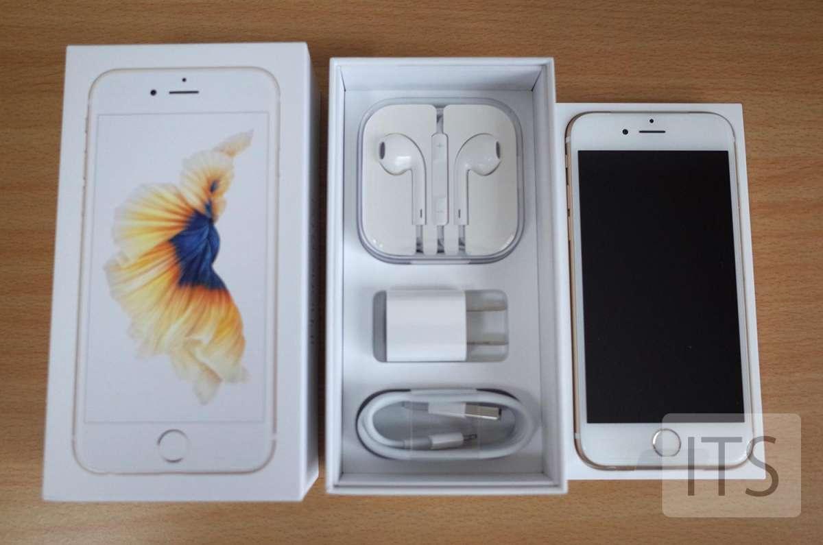 iPhone6s 箱の中身