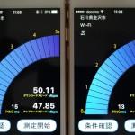 iPhone6sととiPhone6のWi-Fi速度