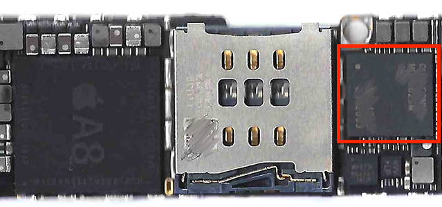 Iphone 6 board mdm9625