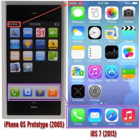 iPhone 初期試作品