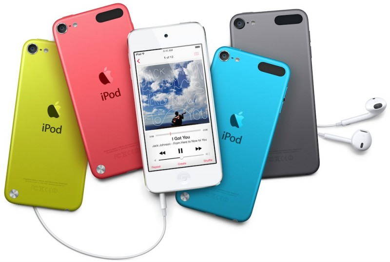 Ipod touch 5 colors 800x538
