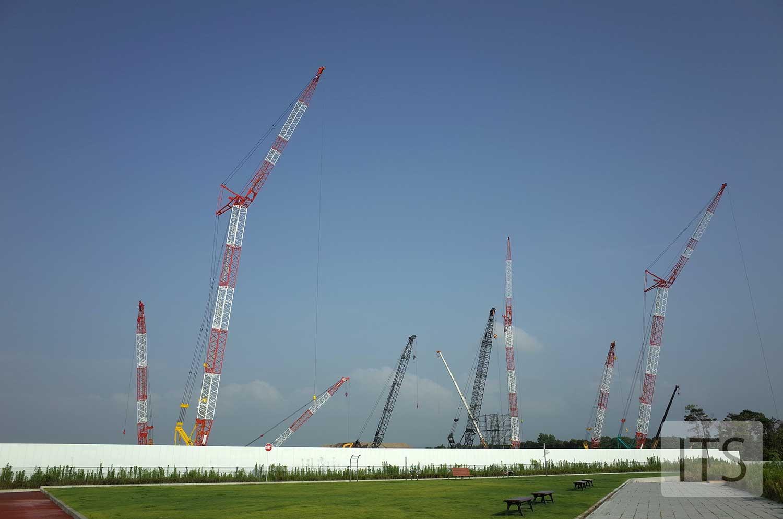 JDI 白山工場 建設