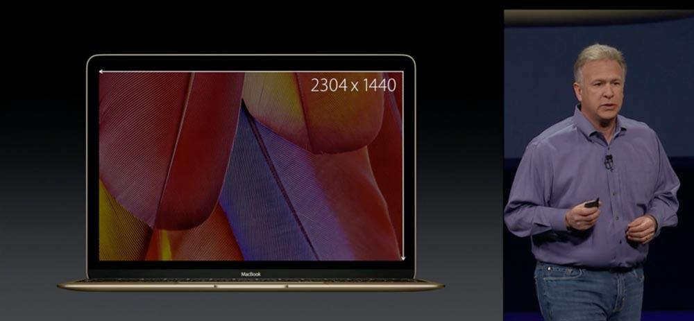 MacBook Retinaディスプレイ