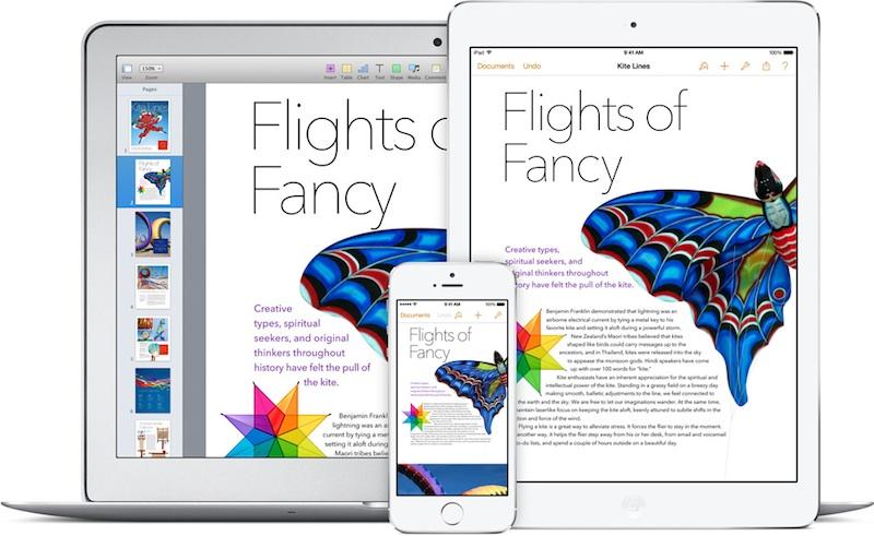 Macbook air iphone ipad