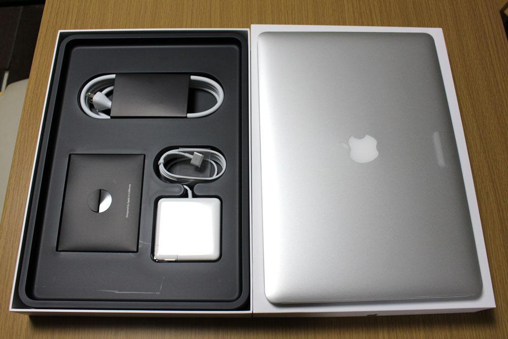 MacBook Pro Retina Late 2013 電源など
