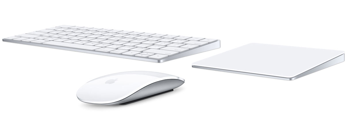 Magic Keyboard、Magic Mouse 2、Magic Trackpad 2
