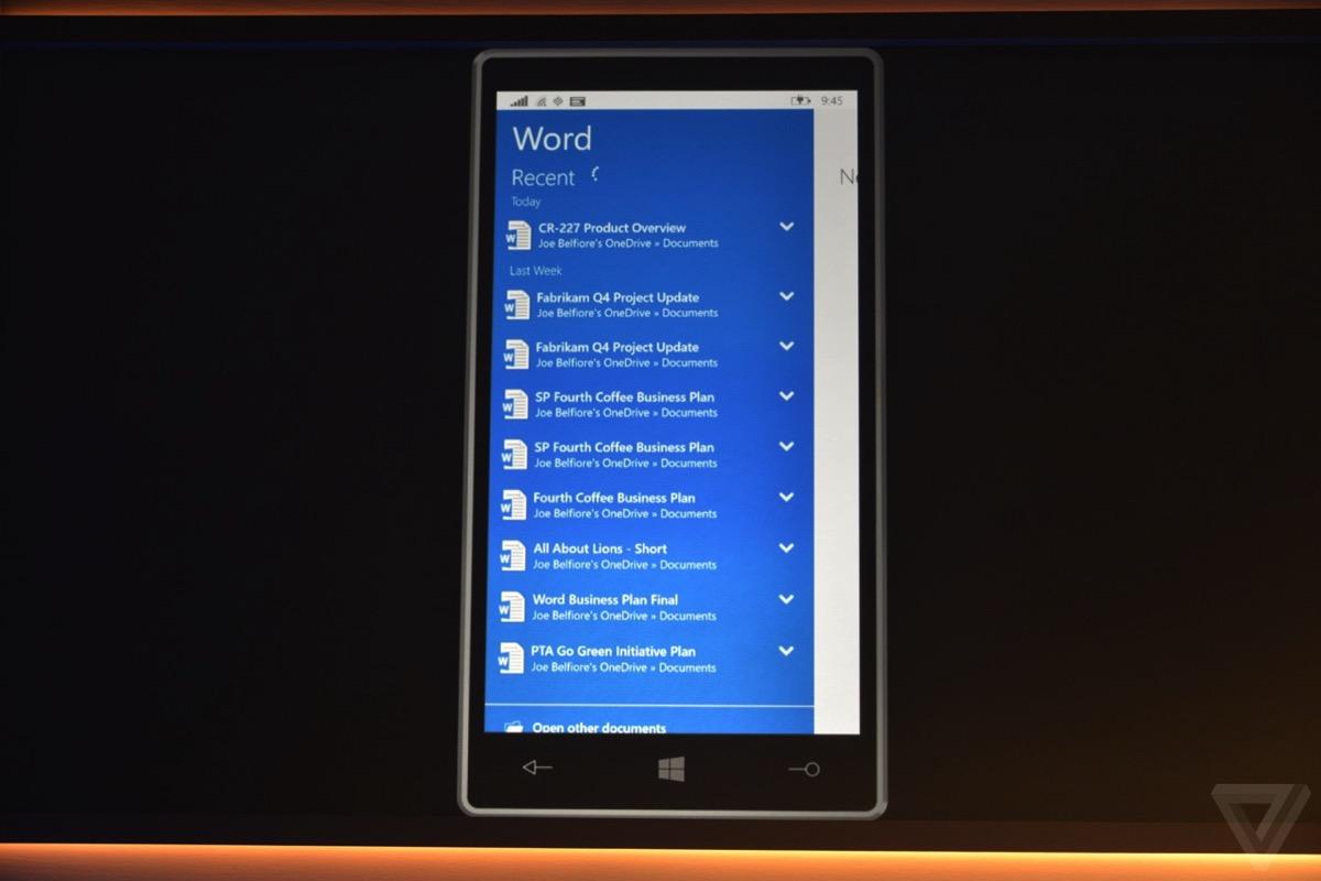Microsoft windows 10 live verge 0582