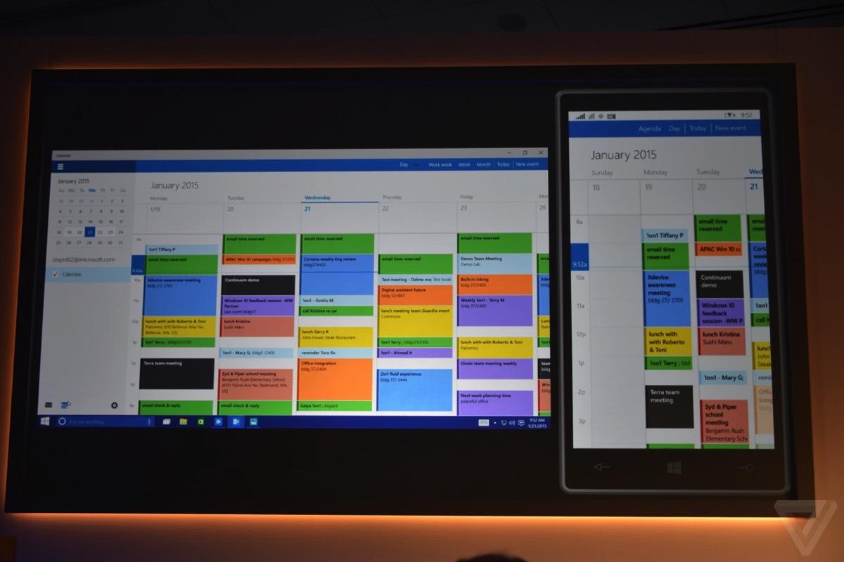 windows 10 カレンダー