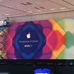 The epicenter of change WWDC 2015 巨大バナー